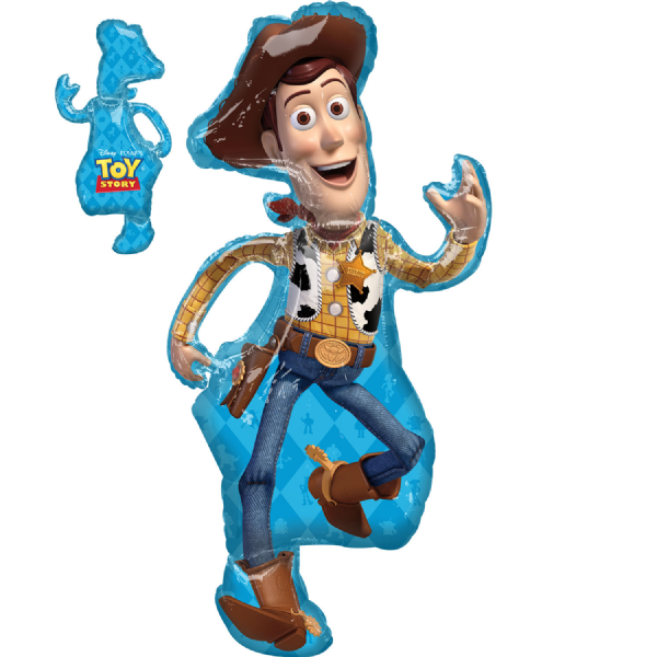 Toy Story 4 Woody SuperShape XL Foil Balloon